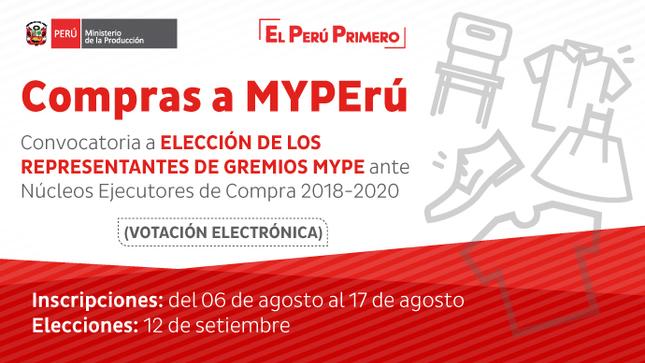 Campaign compras a myperu