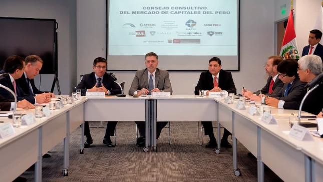 El Ministerio de Economía y Finanzas participa en primera sesión  del Consejo Consultivo del Mercado de Capitales