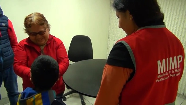 Mimp reúne a niños, niñas y adolescentes desaparecidos con sus familiares