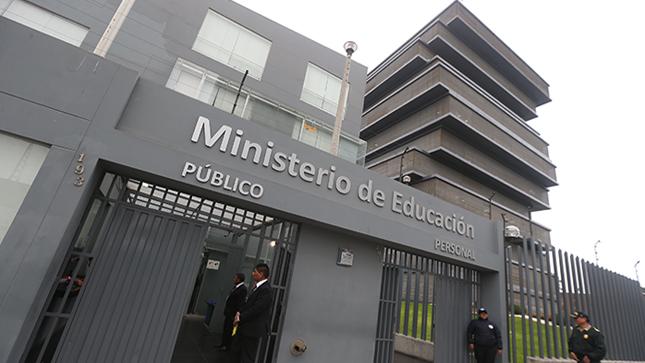 Minedu aprueba directiva para denuncias de casos de corrupción