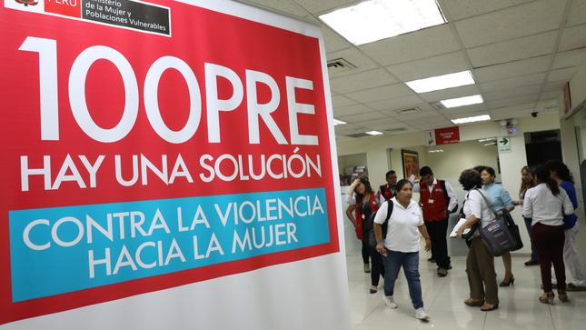 Mimp atiende a través de centro emergencia mujer caso de Chimbote