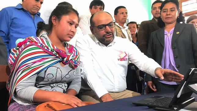 Minedu dará 6,500 tabletas a estudiantes  de colegios públicos de cuatro regiones