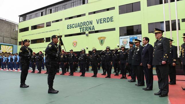 Escuadrón Verde desarticula 260 bandas delictivas en acciones operativas en lo que va del 2018