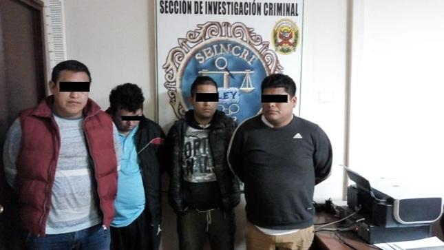 Desarticulan banda delictiva Los Malditos del Pino