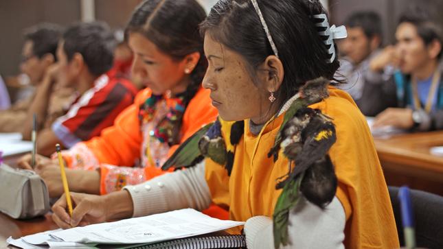 Ministerio de Cultura abre convocatoria para el décimo primer Curso de Intérpretes y Traductores de Lenguas Indígenas