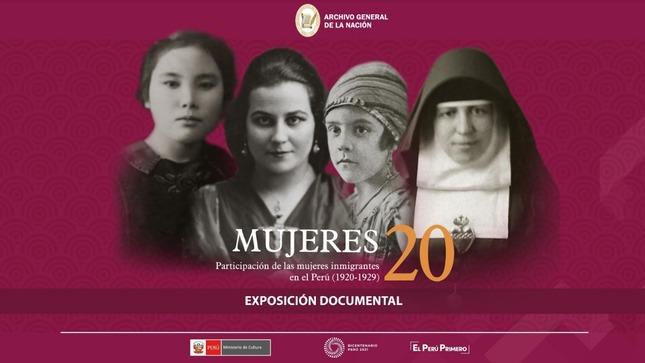 Presentarán exposición Mujeres inmigrantes en el Perú (1920 – 1929)