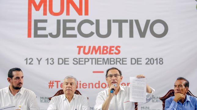 César Villanueva: Inversión para Tumbes asciende a 252.1 millones de soles en el 2018