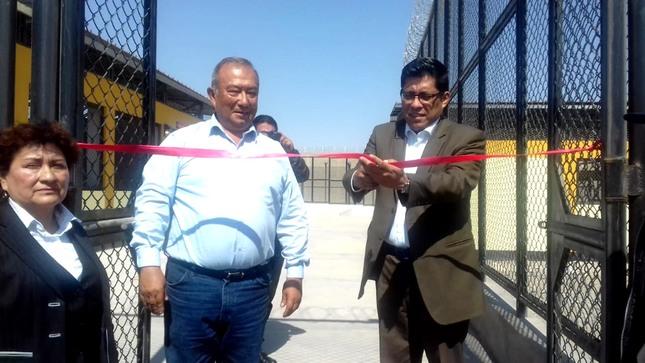 Ministro Zeballos visitó penal de Tacna y sostuvo reuniones de trabajo con presidente de la Corte de Justicia y Decano del Colegio de Abogados