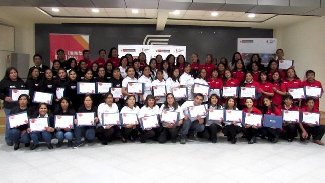 Más de 50 personas de la región Junín fueron insertadas al mercado laboral formal