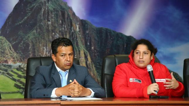 Ministra del Ambiente: Estamos firmes en la lucha contra la corrupción
