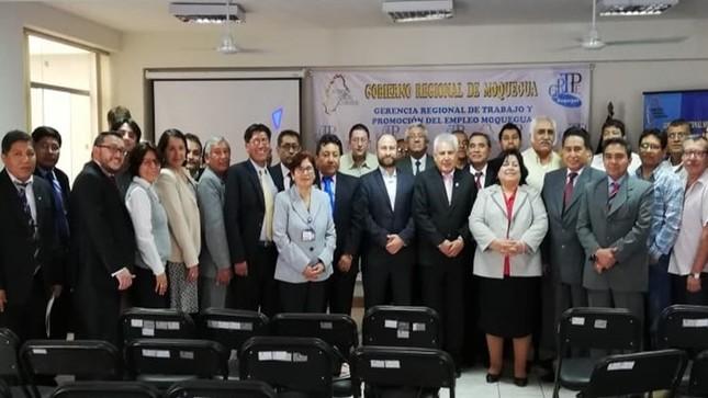 MTPE organizó encuentro macrorregional en el sur del país