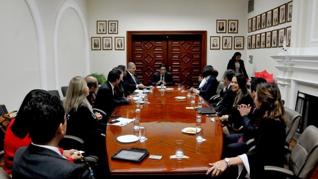 Funcionarios de Perú y El Salvador intercambiaron experiencias en materia de transparencia y lucha contra la corrupción