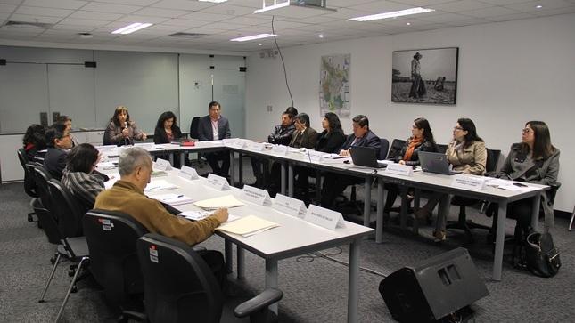Comisión Multisectorial acuerda realizar proceso de consulta previa de la Estrategia Nacional de Conocimientos Tradicionales.