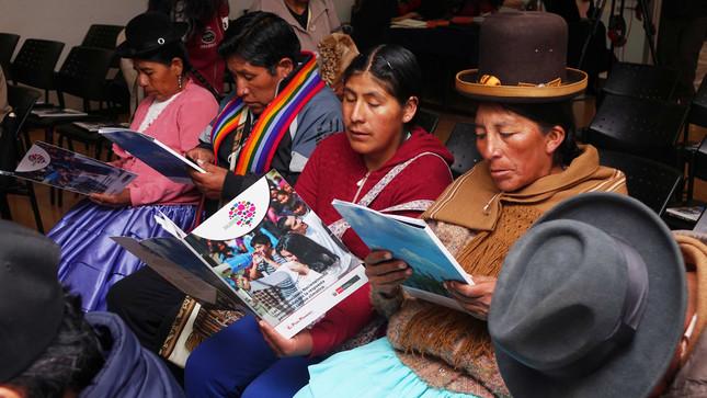 Estado fortalece su acción climática mediante el diálogo con representantes de los pueblos indígenas de todo el país