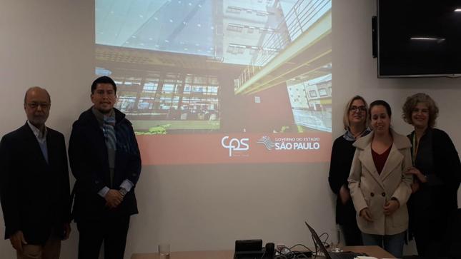 Consulado General del Perú en San Pablo efectuó visita de trabajo al Centro Paula Souza