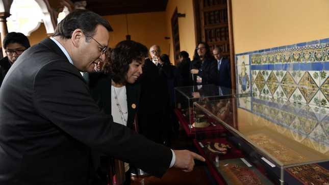Cancillería entrega al Ministerio de Cultura más de 1700 bienes culturales repatriados del exterior
