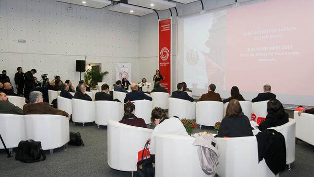 Presentan al Consejo Consultivo que guiará la agenda conmemorativa por los 200 años de la Independencia del Perú