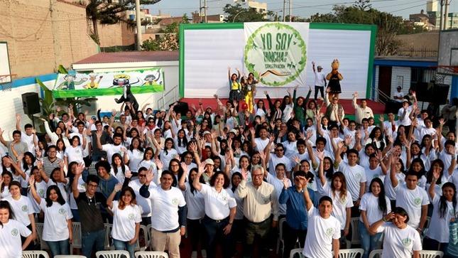 Ministra del Ambiente destaca compromiso de los jóvenes para defender la conservación de la biodiversidad peruana