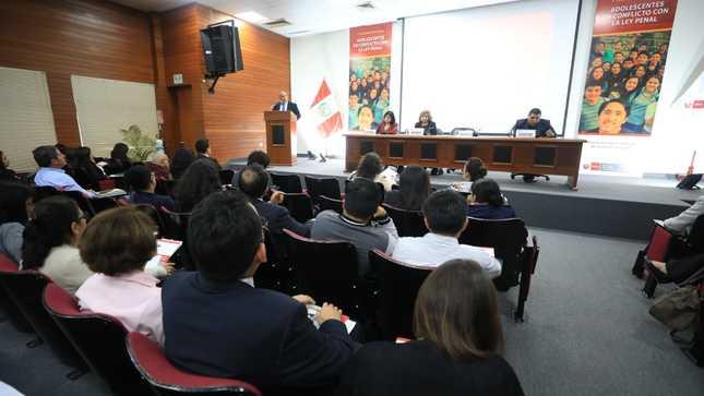Minjusdh realizó I Convención Adolescentes en Conflicto con la Ley Penal