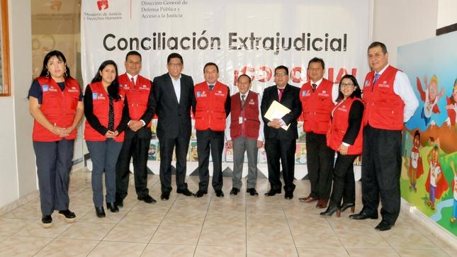 Ministro Vicente Zeballos supervisa el centro ALEGRA de Manchay