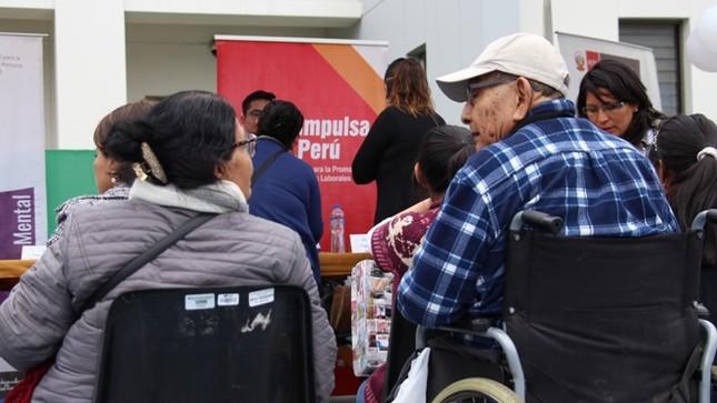 Personas con discapacidad reciben capacitación del programa Impulsa Perú