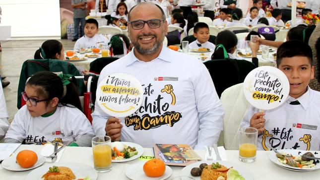 Ministro Alfaro destaca productos originarios en Día Mundial de la Alimentación