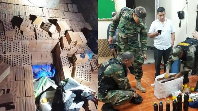 Huánuco: Incautan 172 galones con insumos químicos y más de siete kilos de droga líquida