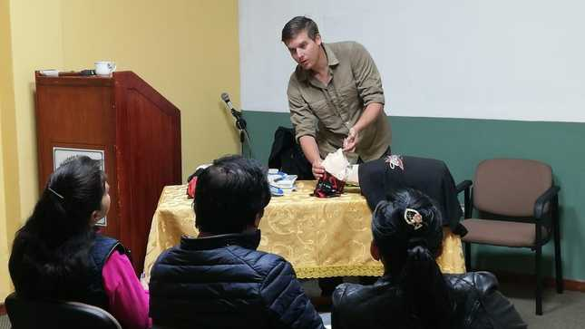 SERNANP elabora el primer protocolo de atención y manejo de riesgos en Red de Caminos Inka