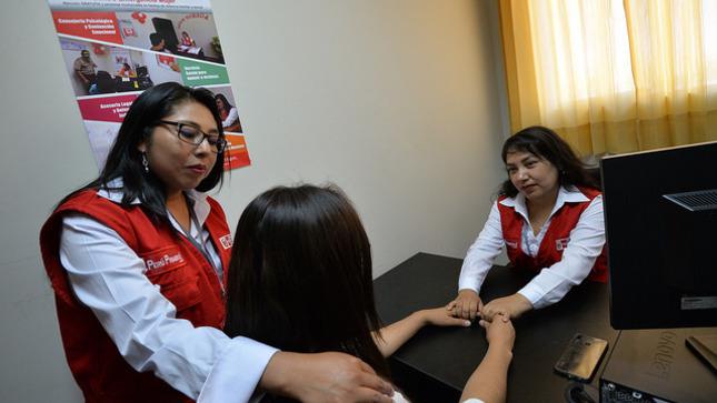 Ministerio de la Mujer y Poblaciones Vulnerables atiende a adolescente presunta víctima de violencia sexual