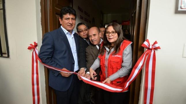 Cajamarca: Ministerio de la Mujer y Poblaciones Vulnerables inaugura la primera Unidad de Proteccion Especial (UPE)