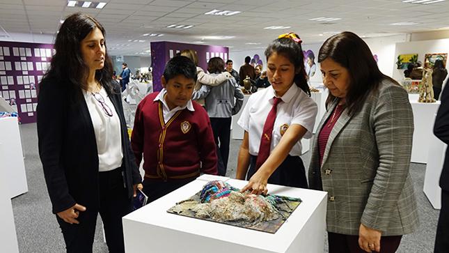 Minedu expone los mejores trabajos de Juegos Florales Escolares Nacionales