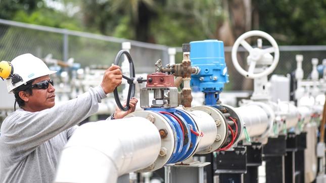 Se normaliza operaciones en la planta de gas Las Malvinas