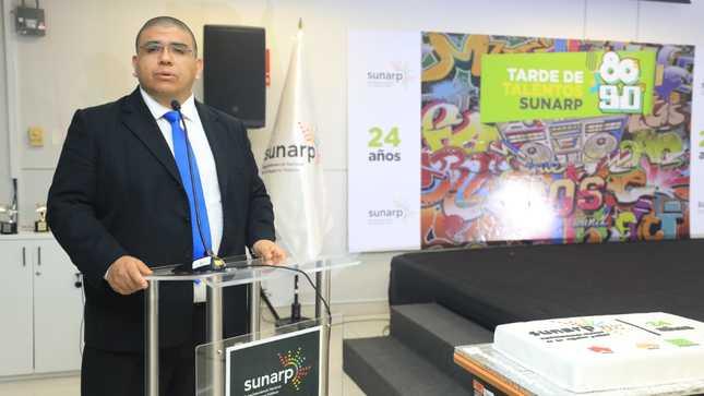 SUNARP celebra 24 años con el compromiso de servicio al ciudadano