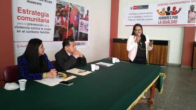 Ministerio de la Mujer y Poblaciones Vulnerables presenta Estrategia Comunitaria para prevenir violencia contra la mujer en Junín
