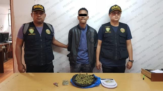 Grupo Terna detiene a persona por presunto tráfico ilícito de drogas
