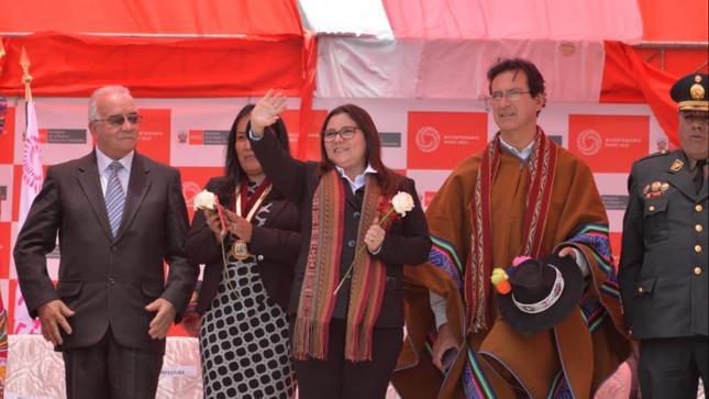 Ministra Ana María Mendieta destacó lucha contra la violencia hacia la mujer en Agenda Bicentenario del Perú