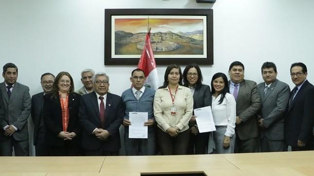 Ministerio Público y Federación Nacional de Trabajadores llegan a un acuerdo parcial