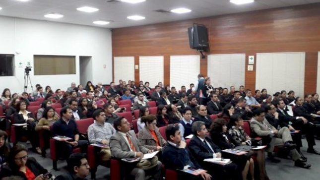 """Programa académico """"Martes Jurídico"""" del MINJUSDH ofrece conferencias sobre proyectos de reforma constitucional"""