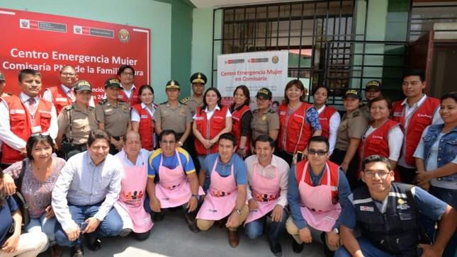 Piura: MIMP inaugura Centro Emergencia Mujer  en comisaría que atenderá casos de violencia de género