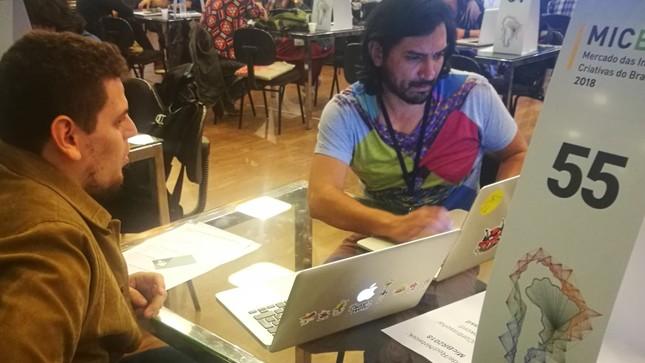 Emprendedores peruanos participaron en el Mercado de Industrias Creativas de Brasil 2018