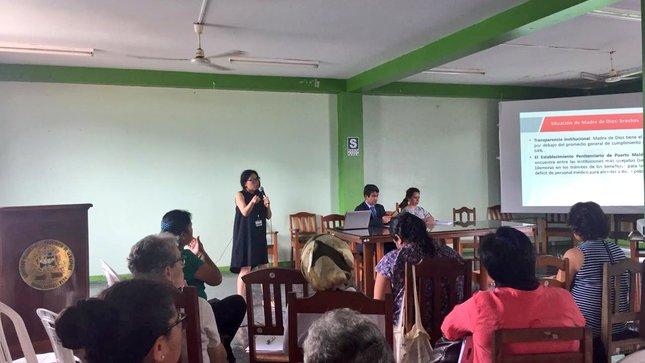 MINJUSDH presentó el Plan Nacional de  Derechos Humanos 2018 - 2021 en Puerto Maldonado