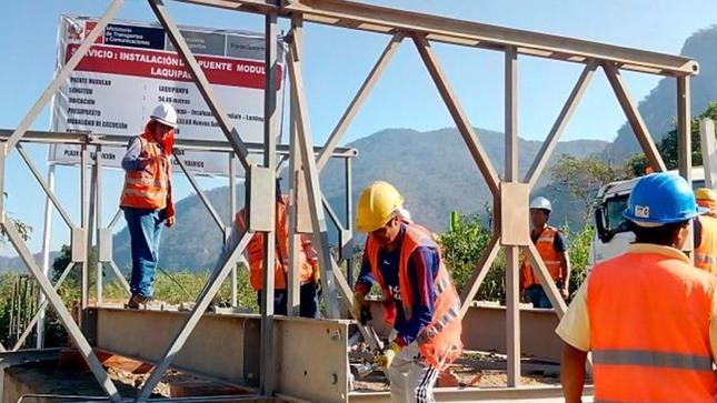 Standard mtc instalara puentes modulares