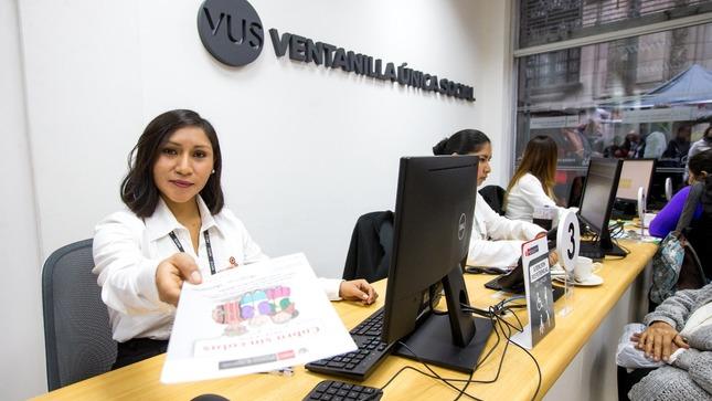 Midis y Municipalidad de Lima implementan Ventanilla Única Social en el centro de la ciudad capital